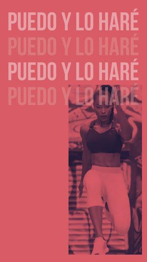 Puedo y lo haré<BR>Puedo y lo haré<BR>Puedo y lo haré<BR>Puedo y lo haré<BR><BR> Cartel motivador