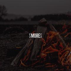 Dark Toned Campfire Pun Instagram Post Jokes