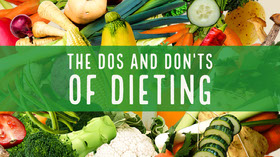 The Dos and Don'ts<BR>of Dieting Youtube 배너
