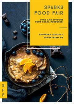 SPARKS FOOD FAIR Food Flyer