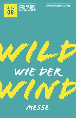 Wild Wind Veranstaltungsplakat