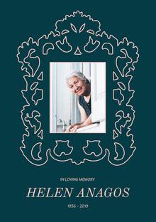 Helen Anagos  Programa funerario