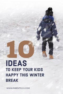 Light Toned, Winter Kids Fun Ideas, Pinterest Post Winter