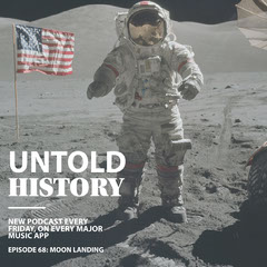 Light Toned Untold History Podcast Ad Instagram Post Moon