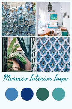 Morocco Interior Inspo Teal