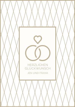 HERZLICHEN GLÜCKWUNSCH  Einladung zur Verlobung