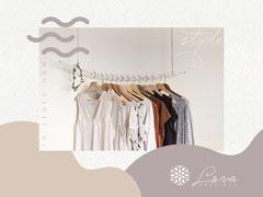 Neutral Minimalistic Lova Boutique - Facebook Post Shopping