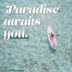 Paradise awaits you. Boats