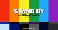 pride colors virtual DJ set facebook Pride