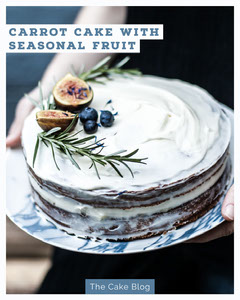 White Carrot Cake Recipe Winter Igportrait Cakes
