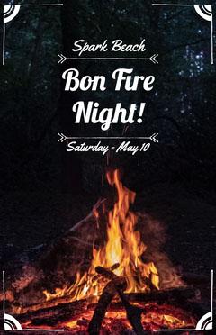 Bon Fire Night! Beach