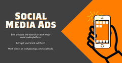 Gray and Orange Social Media Marketing Guide Facebook Post Graphic Social Media Flyer
