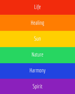 pride colors pride flag instagram portrait  Pride