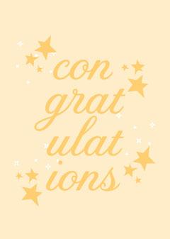 congratulations card Congratulation
