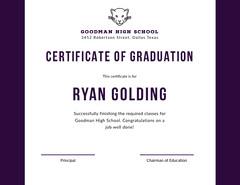 Ryan Golding  Graduation Congratulation