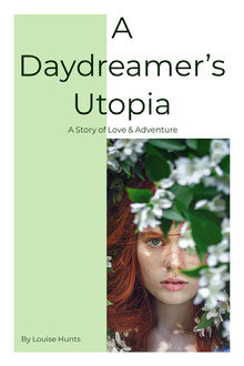 White and Green A Daydreamer's Utopia Book Cover Couverture de livre