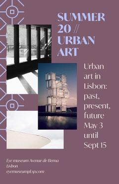 museum art exhibit flyer Gallery