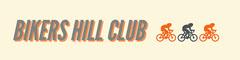 Orange and Grey Bikers Hill Club Banner Bike