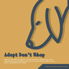 Adopt Don't Shop Dog Flyer