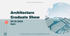blue orange architecture graduate show eventbrite  Shows