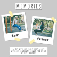 Gray and White Best friends Collage Instagram Square  Thank You Messages