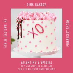 valentines bakery offer igsquare Valentine's Day