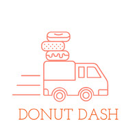DONUT DASH Logotipo