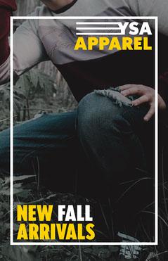 Male Fashion YSA Apparel Poster Autumn
