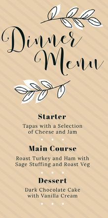 the wedding of wedding menu  Menu per matrimonio