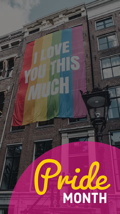 Pink & Yellow Pride Themed Image Snapchat Filter Pride