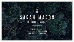 Sarah Maron Interior Design
