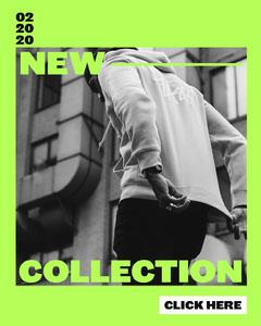 Neon New Collection Instagram Portrait Portrait