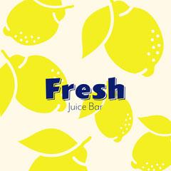 yellow navy lemons fresh juice bar instagram gram square  Juice