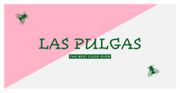 Pink and Green Insect Logo Graphic Logo