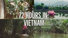 Vietnam Travel and Tourism Youtube Thumbnail with Collage Boats
