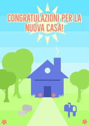 new home congratulations cards  Biglietto di congratulazioni