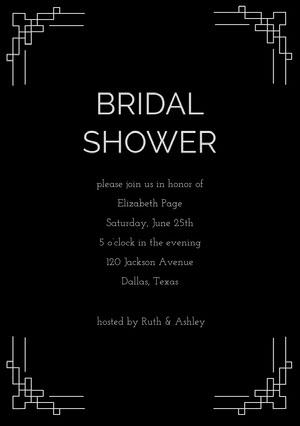 BRIDAL <BR>SHOWER