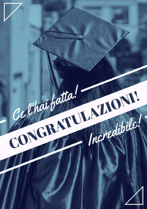 you did it graduation congratulations cards Biglietto di congratulazioni