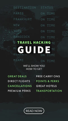 TRAVEL HACKING<BR>GUIDE Guide