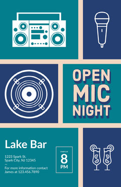 Open Mic Night Speaker