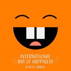 International Day Of Happiness Instagram Square Seasonal