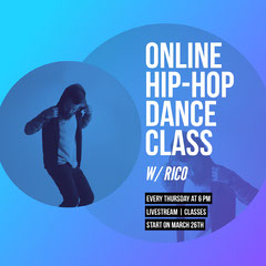hip hop dance class instagram  Hip Hop Flyer