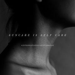Suncare is self care Sun