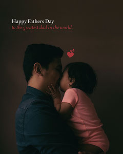 Dark Brown Fathers Day Instagram Portrait Graphic Brown