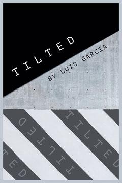 Tilted Black White Book Cover Black And White