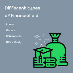 financial aid instagram  College