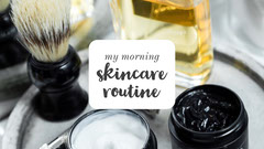 morning skincare routine YouTube channel art Beauty