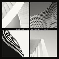 Black and White Art of Architecture Instagram Square  Art