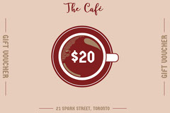 Claret and Pink Gift Card Cafe