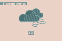 Element Flashcard Air Science